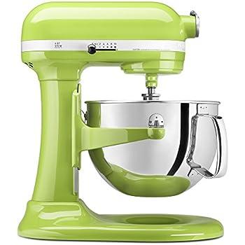 Elegant KitchenAid KP26M1XGA 6 Qt. Professional 600 Series Bowl Lift Stand Mixer    Green Apple