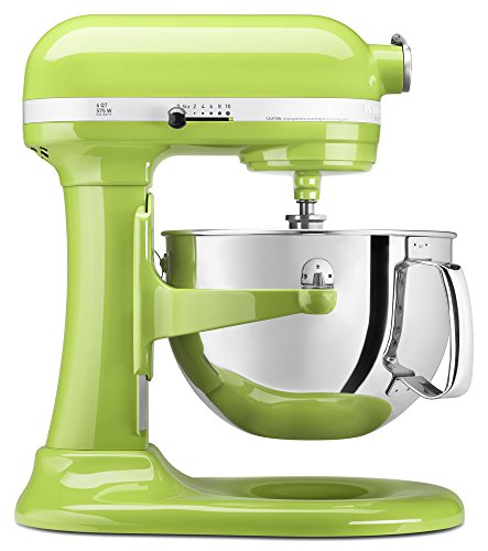 KitchenAid KP26M1XGA Pro 600 Series Green Apple 6-quart Stan