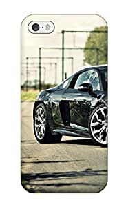 Excellent Design Audi R8 Black Roads R V Reflections Railway Cars Audi Case Cover For Iphone 5/5s by supermalls