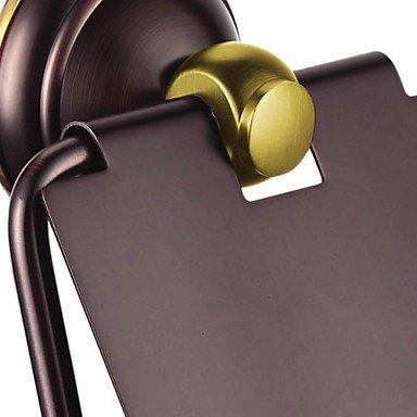 XY&XH Toilet Paper Holders Modern Slat Toilet / Tissue Paper Holder, Brass Oil Rubbed Bronze Finish Bathroom Accessory