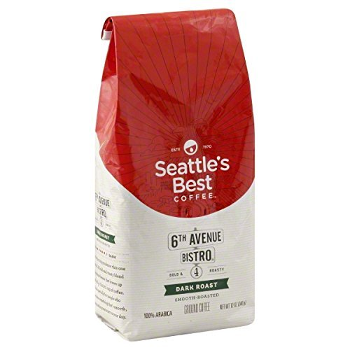 Seattle's Best 6th Avenue Bistro (Previously Signature Blend No.4) Level 4 Dark Roast Coffee (32-Ounce Bag)
