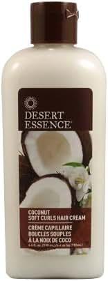 Desert Essence Coconut Soft Curls Hair Cream - 6.4 fl oz