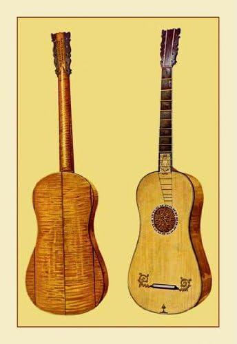 Buyenlarge 11521-1P2030 guitarra por Antonio stradivari 20 x 30 ...