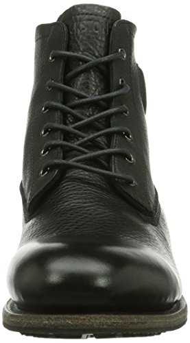 Boot Fur Mid Blackstone Nero Taglia Lace Stivale Up AP4wFa