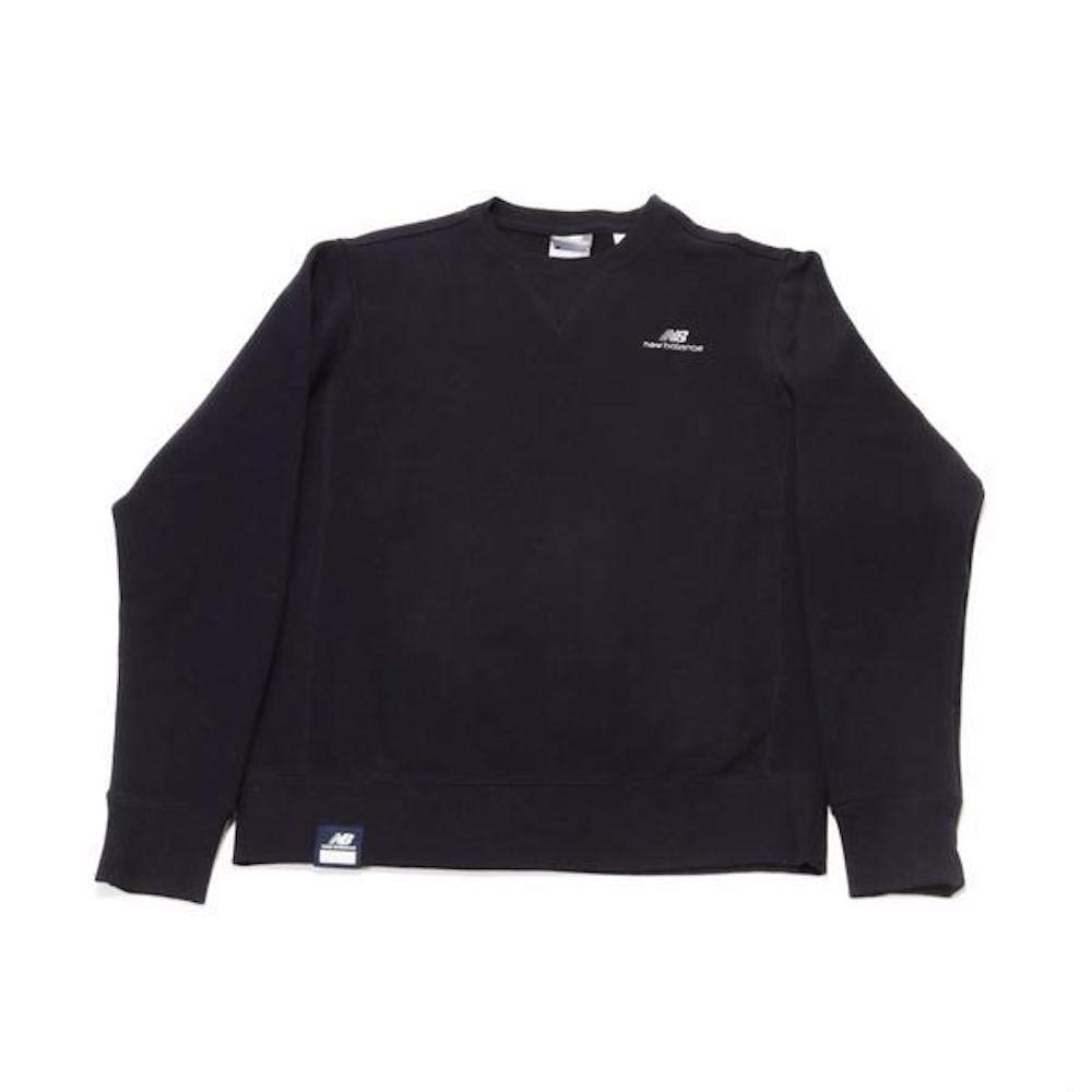 517e71021bfc7 Amazon.com: New Balance The Logo Crewneck Sweatshirt (Navy) - Small ...