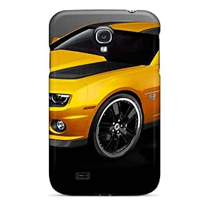 Juv8661DZhw HenryAnaton Awesome Case Cover Compatible With Galaxy S4 - Car Camaro Bumblebee Fast Cool Cars