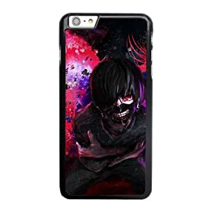 Custom made Case,Kaneki Tokyo Ghoul PC Plastic Cell Phone Case for iPhone 6 6S plus 5.5 inch,Black Case With Screen Protector (Tempered Glass) Free S-6632363