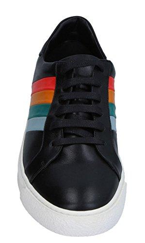 Anya Hindmarch Mens Spectrum Stripe-Embossed Nappa Leather Sneakers 77xTMe