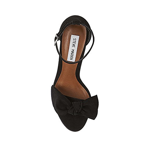 High Black Julia nubuck Ankle Women's Pump Steve Nubuck Madden wBqZnAx
