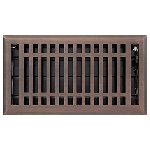 """Naiture 4"""" x 14"""" Steel Floor Register Contemporary Style ..."""
