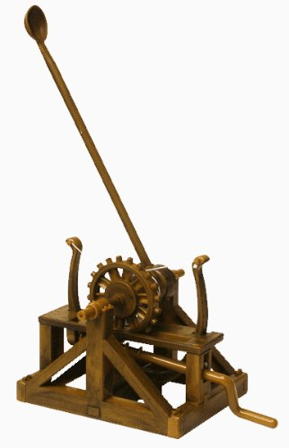 Catapult – Leonardo Da Vinci Kit # EDU-61009