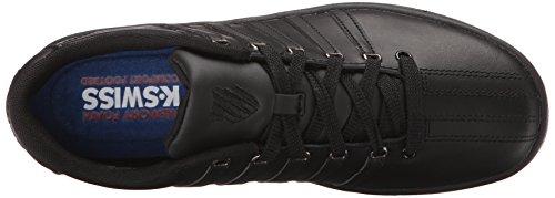 K-Swiss Womens Court Pro II CMF Athletic Shoe Black/Gunmetal Ty9SIZ4DcX