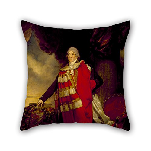 [Artistdecor Oil Painting Arthur William Devis - James Duff Pillowcase 18 X 18 Inches / 45 By 45 Cm For Family,divan,relatives,son,festival,christmas With Twice] (Knight Family Costume)