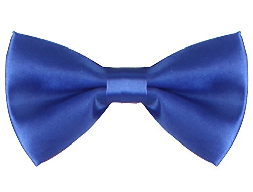 WDSKY Infant Baby Bow Ties for Boys Girls Toddler Tuxedo Bowties Royal Blue One Size (Good Halloween Costumes For High School)