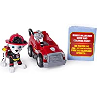 PAW Patrol Ultimate Rescue Marshall's Mini Fire Cart with...