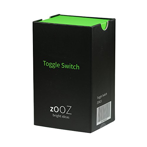 zooz z wave plus wireless lighting control smart toggle switch. Black Bedroom Furniture Sets. Home Design Ideas