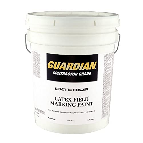 Valspar 44 655P White Latex Professional Quality Guardian Field Marking  Paint   5 Gallon