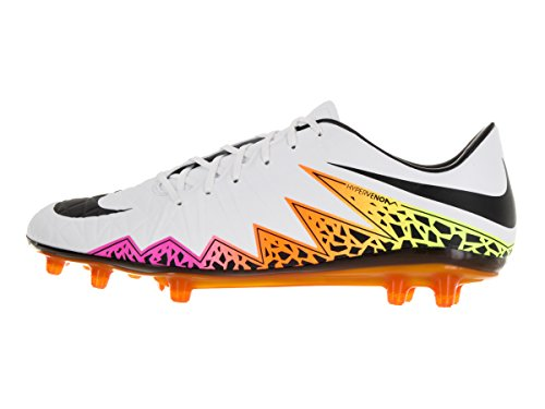 Bianco Scarpe Uomo Hypervenom White FG Blanco Calcio Orange total volt Blanco II da Black Phantal Nike dRq0In8I
