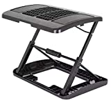 Adjustable Footrest for Home Office, Or Under Desk Ergonomic Massaging Foot Rest (Footstool) (Massaging & Height Adjustable)