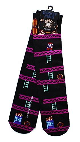 Donkey Kong Nintendo Tube Socks