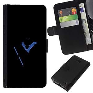 All Phone Most Case / Oferta Especial Cáscara Funda de cuero Monedero Cubierta de proteccion Caso / Wallet Case for LG OPTIMUS L90 // Super Hero Glow in Dark