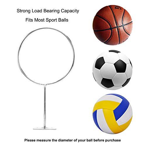 Wall Ball Storage Rack Ball Holder Display for Soccer Exercise Ball