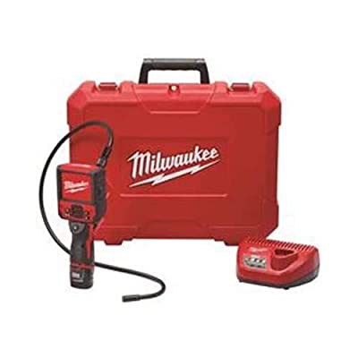 "Milwaukee Electric Tool 2315-21 M12 M-Spector Flex Inspection Camera Cable Kit, 3', 13.58"" x 5.35"" x 17.28"""
