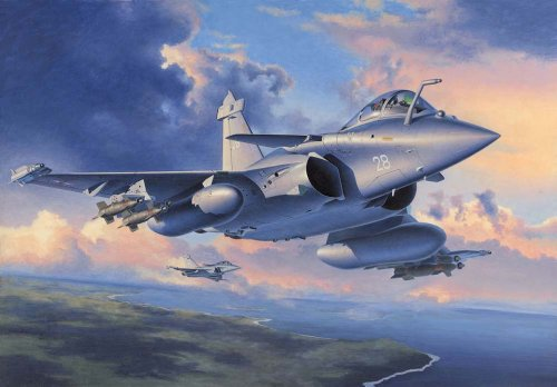 Revell of Germany Dassault Rafale M Bomb and Rack Plastic Model Kit