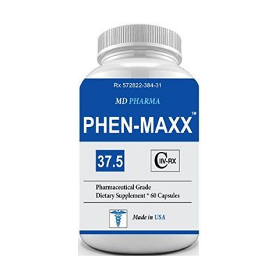 PHEN-MAXX 37.5 (Pharmaceutical Grade OTC - Over The Counter - Weight Loss Diet Pills) - Advanced A by PHEN-MAXX 37.5