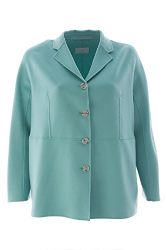 Marina Rinaldi Women's Nabucco Wool Blend Coat 20W/29 Seafoam (Angora Blend Coat)