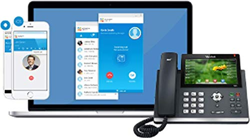 Small Office Phone System Includes 4 Polycom WX 410 Telephones - Auto Attendant, Voicemail, Caller ID, 90+ ()