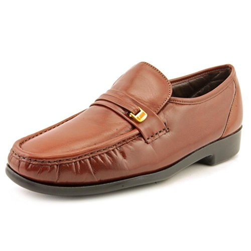 Florsheim Men's Riva Cognac Ankle-High Leather Loafer - 10.5D ()