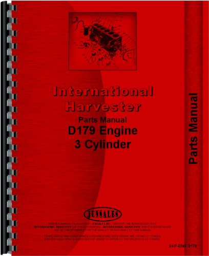Forklift Engine - International Harvester 4500A Forklift Engine Parts Manual (Engine)