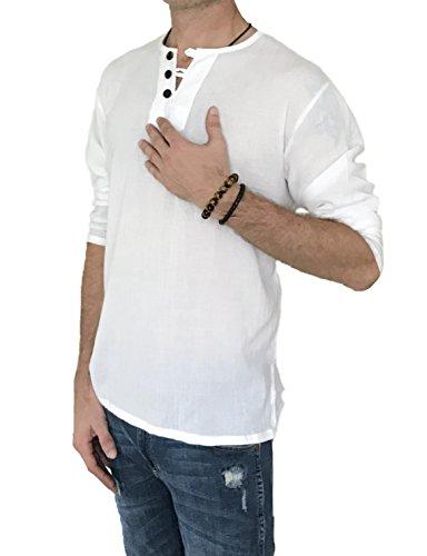 Men's Hero 3 Button 100% Cotton ...