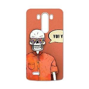 HUAH Skull Phone Case for LG G3 Case
