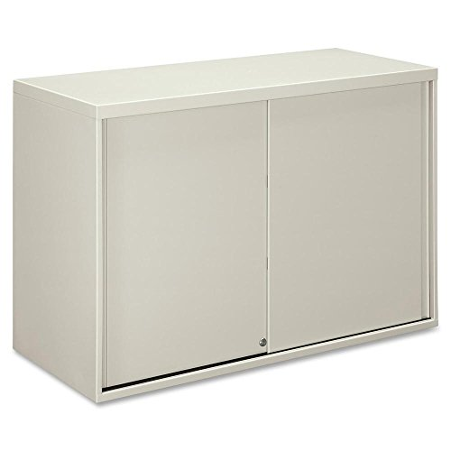 HON 9319Q 42-Inch by 18-Inch Overfile Storage Cabinet for Lateral File, Light (Gray Lateral Storage Cabinet)