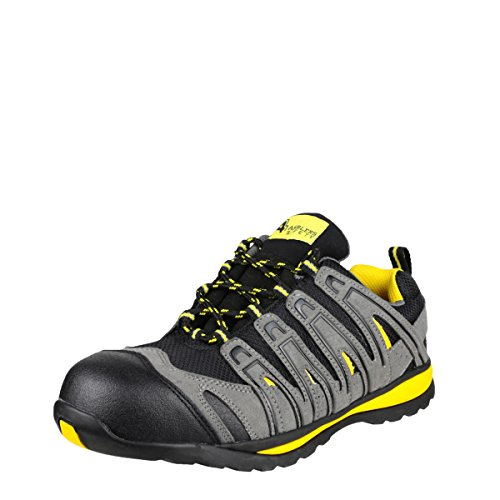 Amblers Safety Hombres Amblers Safety Hombres Fs42c Safety Sneakers Black Mesh Black