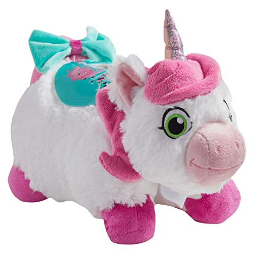 Pillow Pets Nickelodeon Nella The Princess Knight Trinket Sleeptime Lites, White