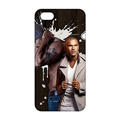 new style 66ce4 b69bf 3D Shemar Moore For Iphone 5/5S Phone Case Cover: Amazon.co.uk ...