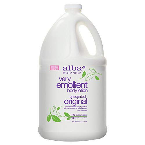 Alba Botanica Very Emollient Original Body Lotion, 128 oz.