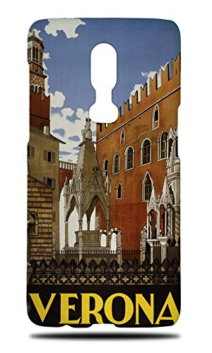 Italy Verona Drawing Art Hard Phone Case Cover for OnePlus 6