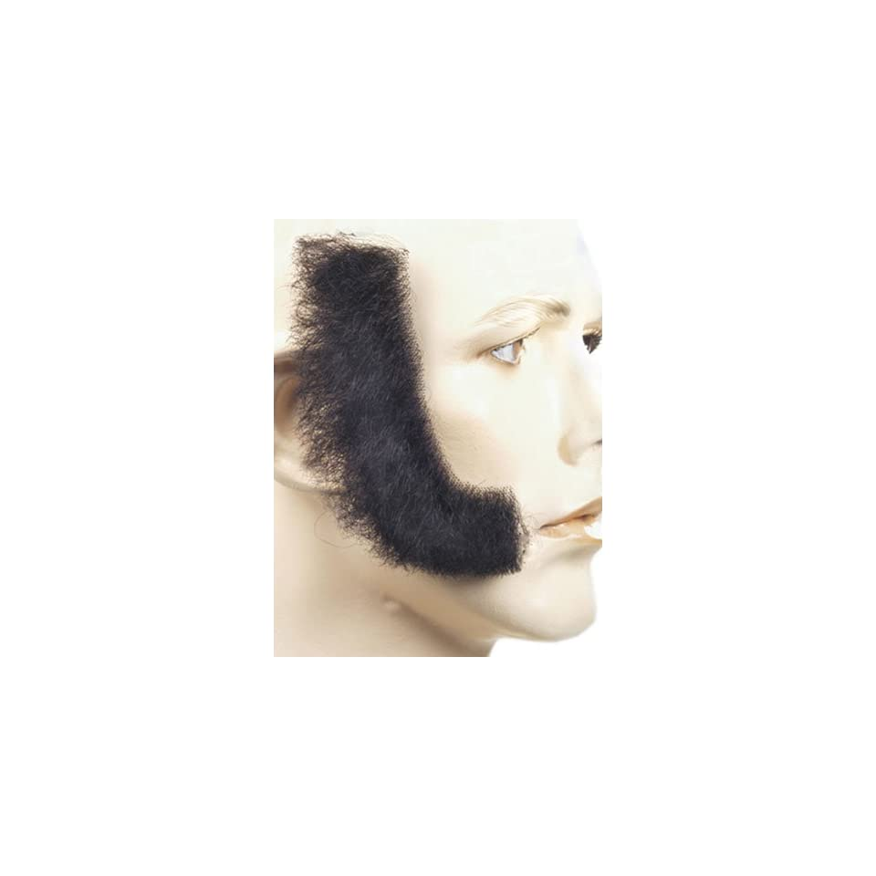 Sideburns Long Human Hair by Lacey Costume Wigs