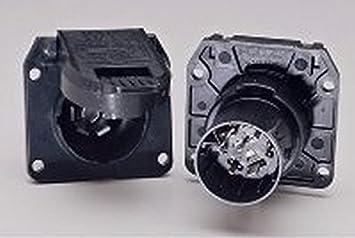 Amazon.com: POLLAK RV Trailer 7-Way RV OEM Socket - 11-893 Wiring  Connector: AutomotiveAmazon.com