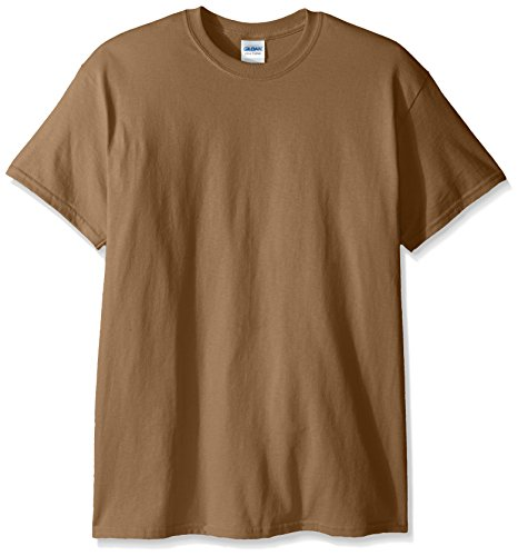 - Gildan Men's Ultra Cotton Tee, Tan, Medium