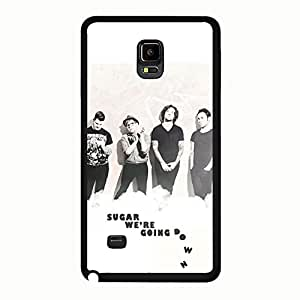 Fashion Durable Hard Case Fall Out Boy Phone Case Cover for Samsung Galaxy Note 4 Fall Out Boy Special Band