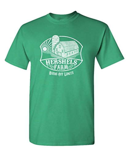 The Goozler Hershel's Farm - Dead Zombie Funny Walking - Mens Cotton T-Shirt]()