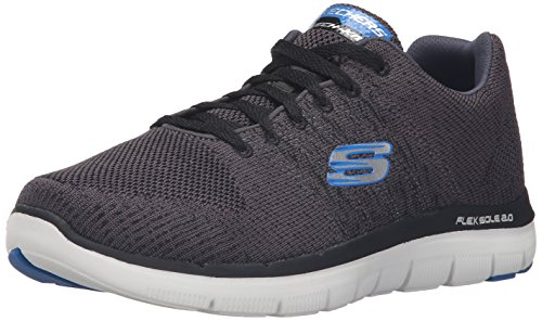 43 Homme Golden 2 Bleu Anthracite 0 Advantage Bleu Marine EU Point Basses Skechers Flex Noir Baskets q8w7p8Fx