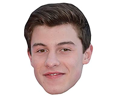 Shawn Mendes Celebrity Mask, Card Face and Fancy Dress Mask