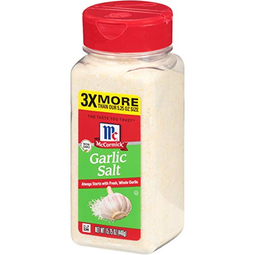 McCormick Garlic Salt, 15.75 OZ (Easy Garlic Mashed Potatoes With Garlic Powder)