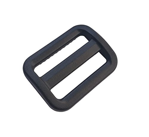 30 Pcs 1 Inch Plastic Triglides Slides for Webbing, Fasteners Strap and Backpack